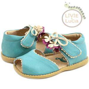 Sandalute elegante Mary Bell pentru fetite confectionate din piele naturala