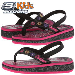 Slapi pentru fete Skechers Sunshines