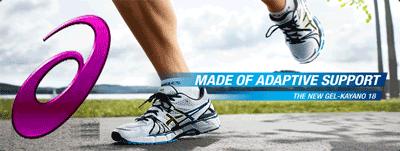 Incaltamintea anatomica sport pentru alergare ASICS - Marca japoneza ce sustine performanta, sanatatea si confortul in alergare