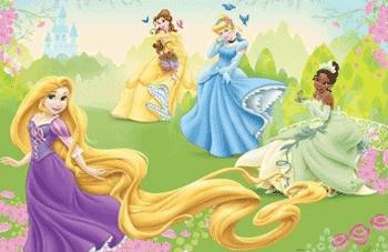 Fototapet Disney Rapunzel 2.08x1.46 m