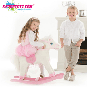 Calutul balansoar ponei cu sunete pentru fetite Princess Maya