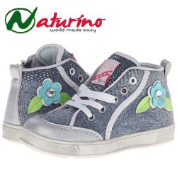 Bascheti Naturino pentru fetite - incaltaminte de calitate pentru copii mici