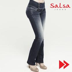 Jeansii Salsa - blugii ce evidentiaza fesele. Pentru femei.