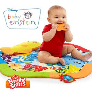 Cadou bebe Salteluta de Joaca Baby Einstein Bright Starts
