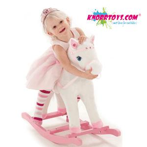 Calut balansoar Princess Maya Knorrtoys - Calut balansoar sub forma de ponei cu sunete pentru fetite Princess Maya