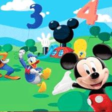 Fototapete pentru copii cu personaje din desenele animate Disney