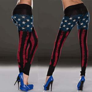 Colanti imprimati cu steagul Statelor Unite - imbracaminte de club