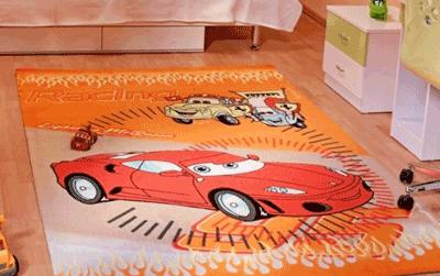 Covoare pentru camera copiilor Disney Cars la Atria