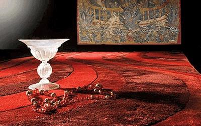 Covor de lux Renato Balestra din lana pura merinos