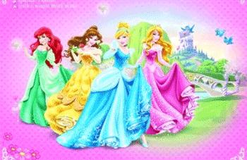 Fototapet Disney Princess