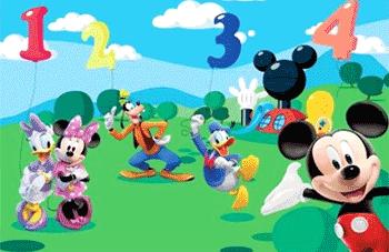 Fototapet de dimensiune mare Mickey Mouse Clubhouse