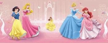 Fototapet Disney Princess pentru dormitorul fetitei