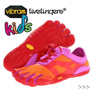 Incaltaminte Vibram FiveFingers Kids - Incaltaminte cu degete pentru copii