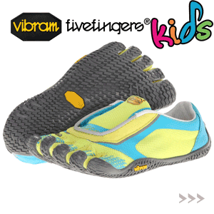 Incaltaminte cu degete baieti Vibram V ON - FiveFingers pentru copii