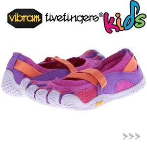 Incaltamintea cu degete Vibram FiveFingers pentru copii