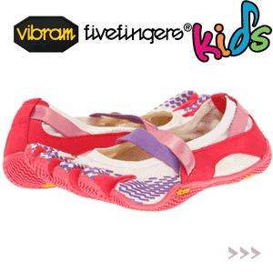 Incaltaminte cu degete fetite Vibram FiveFingers Adidasi copii