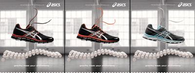 Incaltaminte sport anatomica ASICS pentru barbati, femei si copii