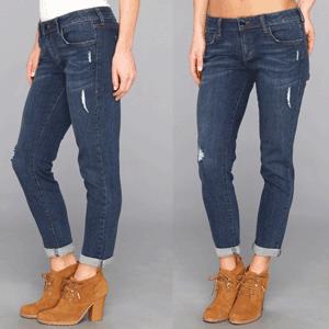 Jeansi Skinny Boyfriend iT Collective pentru femei
