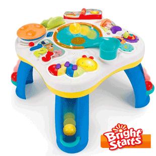 Masute interactive de joaca Bright Starts pentru copii mici