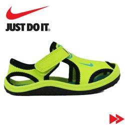 Colectia de Sandale Nike pentru copii la Hervis- modele de sandale cu marimi de la nr.18 la nr. 36, la preturi decente. Sandale de calitate, usoare, aderente si rezistente pentru cei mici.