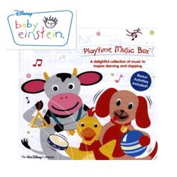 CD-uri cu Muzica Baby Einstein pentru Bebelusi si copii mici