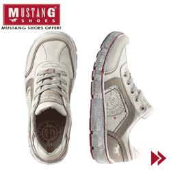 Pantofi sport barbatesti Mustang de culoare deschisa