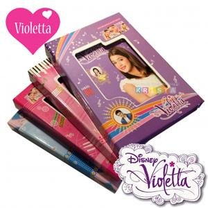 Primul meu jurnal Violetta cu lacatel