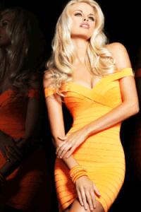 Rochie Bandage Blondie Star - rochii si rochite mulate in stil bandage