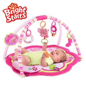 Bright Starts Safari Celebration – Salteluta de joaca pentru bebelusi fetite