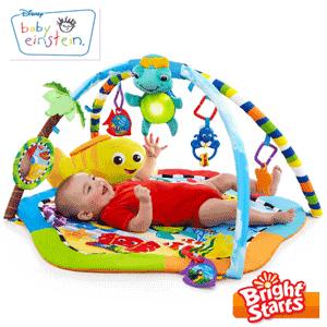 Saltelute interactive de joaca pentru bebelusi Bright Starts Baby Einstein