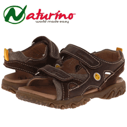 Sandale din piele Naturino pentru baieti Nat. Goal SP14