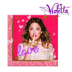 Servetele pentru petrecere Violetta - decoratiuni pentru petreceri