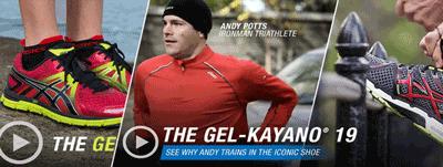 Tehnologia ASICS GEL - incaltamintea pentru alergare
