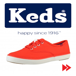 Tenisii KEDS de dama si barbati – Happy since 1916