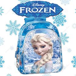 Ghiozdan Elsa Frozen Heart gradinita si scoala