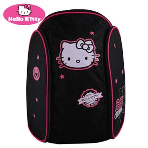 Ghiozdan gimnaziu Hello Kitty negru pentru fete