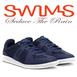 Datorita unui design special proiectat pentru o uscare rapida, pantofii casual Swims Luca Sneaker (gen tenisi) fiind ideali pentru conditii de ploaie.