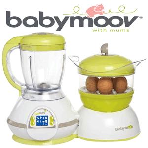Robot de bucatarie, gatire cu aburi, sterilizator, blender Babymoov Nutribaby