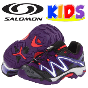 Salomon Kids XT Wings Kn (Little Kid/Big Kid) (Little Kid/Big Kid) - Ghete sport si adidasi Salomon Kids pentru fetite si baieti