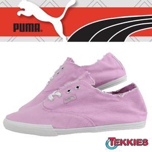 Tenisi roz din panza Puma Tekkies Brites