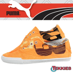 Tenisi portocalii Puma Tekkies Africa