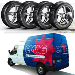 Stiai ca gasesti anvelope auto 195 60 R15 la cel mai mic pret la eMAG?