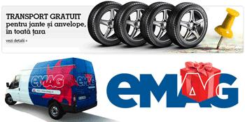 vezi oferta de Anvelope si Jante Auto la eMAG cu livrare gratuita