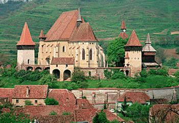 Biserica fortificata saseasca Biertan din Transilvania