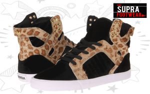 Ghete, Bascheti si Adidasi Skate Supra dama & fete in magazinele online