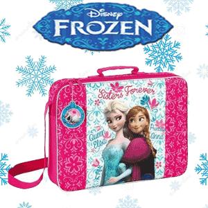 Gentuta Disney Frozen pentru fetite cu Elsa si Anna din Regatul de Gheata