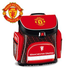 vezi oferta Ghiozdan anatomic Manchester United pentru baieti - culoare rosie