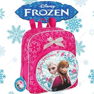 Ghiozdan Mini-Junior Frozen Disney Elsa si Anna Ghiozdan Mini-Junior Frozen Disney Elsa si Anna pentru gradinita, avand dimensiunea de 22 x 27 x 10 cm.