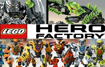 Jucarii Lego cu roboti: Lego Hero Factory