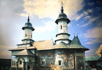 Manastirea Rasca, Suceava, Bucovina - Bisericile pictate din Romania